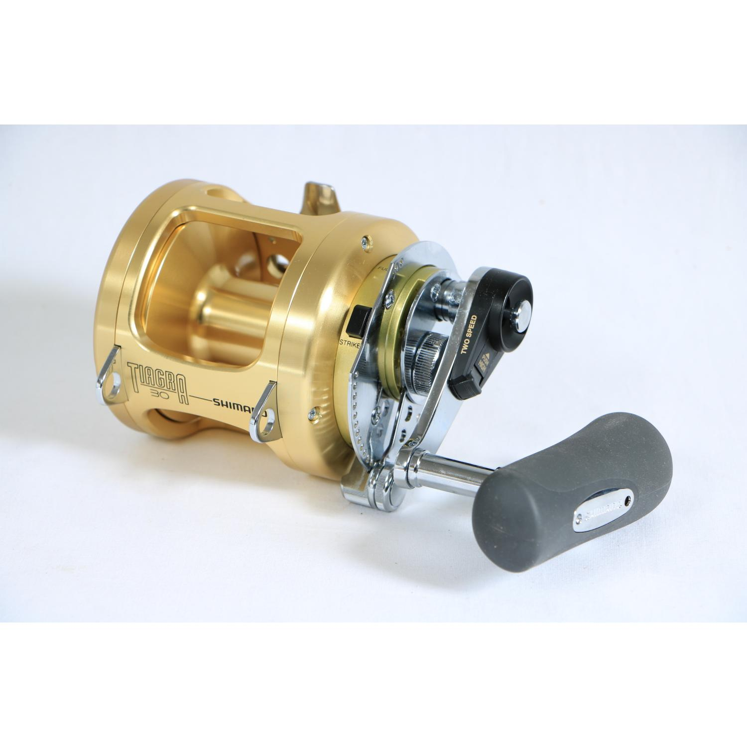 Shimano Tiagra 30 A Big Game Angelrolle 2-Gang Getriebe Bremssystem TI30A