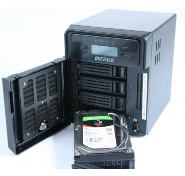 Buffalo Terastation TS3400 D 4-Bay NAS-System 12TB Seagate IronWolf HDD